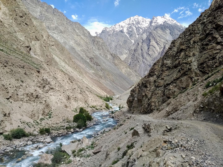 En haute altitude dans le Pamir